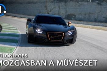 Teszteltük a Hispano Suiza Carmen Bologne-t: Videón a művészet négy keréken